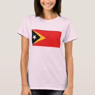 East Timor Flag x Map T-Shirt