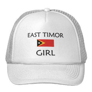 EAST TIMOR GIRL TRUCKER HAT