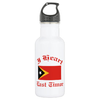 East Timor 18oz Water Bottle