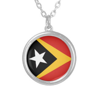 EAST TIMOR ROUND PENDANT NECKLACE