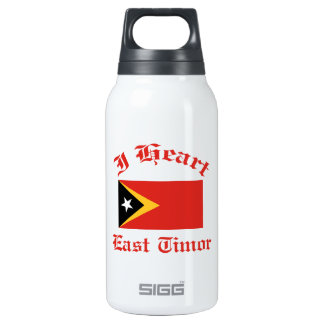 East Timor 10 Oz Insulated SIGG Thermos Water Bottle