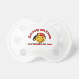 East Timor smiley flag designs Baby Pacifiers