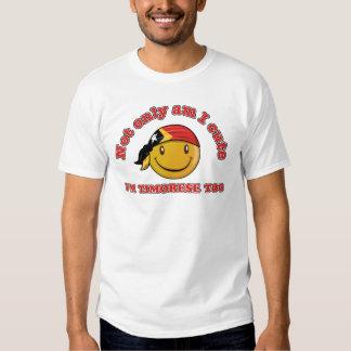 East Timor smiley flag designs Shirt