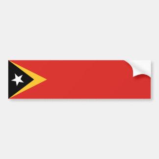 East Timor/Timorese Leste Flag Bumper Sticker