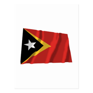 East Timor Waving Flag Postcard