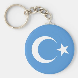 East Turkestan Key Chain