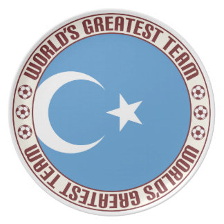 East Turkistan Greatest Team Party Plate