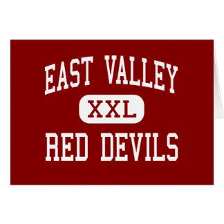 East Valley - Red Devils - High - Yakima Greeting Cards
