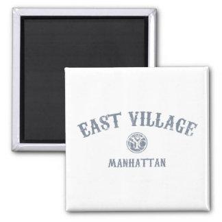 East Village 2 Inch Square Magnet