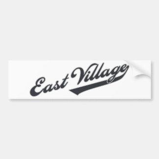 East Village Car Bumper Sticker
