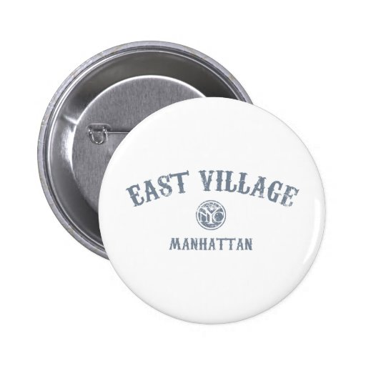 East Village Buttons