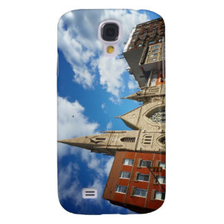 East Village Church and Buildings Samsung Galaxy S4 Case