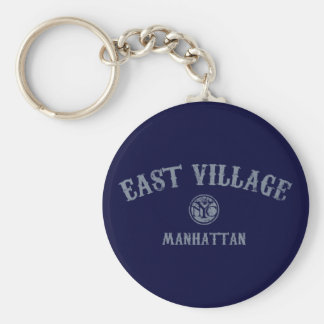 East Village Keychain