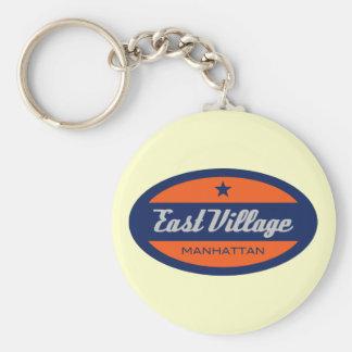 East Village Keychain