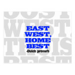 East West, Home Best Postcards