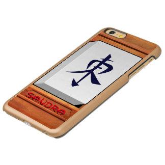 East Wind Mahjong monogrammed Incipio Feather Shine iPhone 6 Plus Case