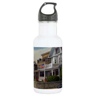 East Wind Over Weehawken 2013 by Stephen Gardner Water Bottle