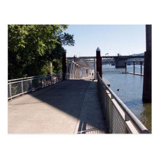 Eastbank Esplanade Portland Oregon Postcards