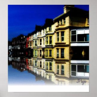 Eastbourne Reflections England Digital Art Poster