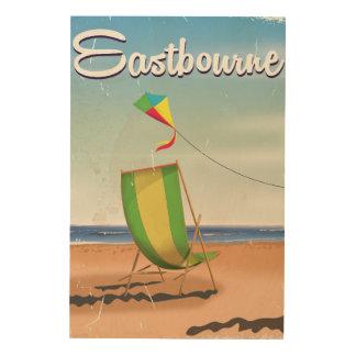 Eastbourne UK vintage travel poster