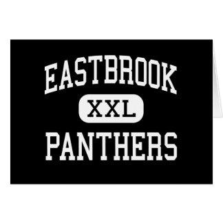 Eastbrook - panteras - alto - altiplanicie Indiana Felicitación