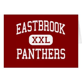 Eastbrook - panteras - alto - Marion Indiana Tarjeta