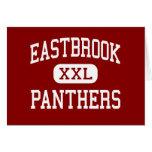 Eastbrook - Panthers - High - Marion Indiana Greeting Card