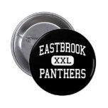 Eastbrook - Panthers - High - Upland Indiana Pinback Button