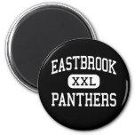 Eastbrook - Panthers - High - Upland Indiana Fridge Magnets
