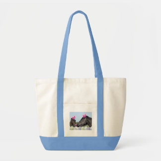 Easte Pony and Horse Tote Bag