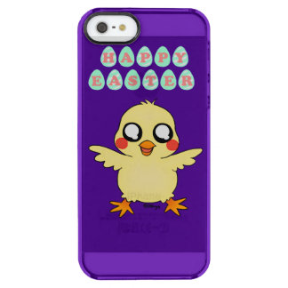 Easter 2014 clear iPhone SE/5/5s case