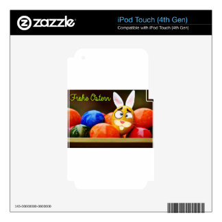Easter #6 skin for iPod touch 4G