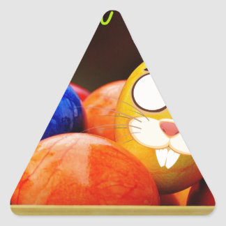 Easter #6 triangle sticker