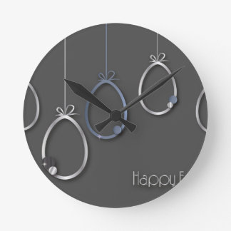 Easter #7 round clock
