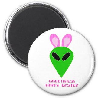 Easter Alien Magnet