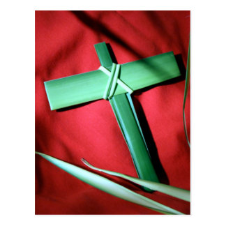 Easter and Palm Sunday Crosses and Scenes Postcard