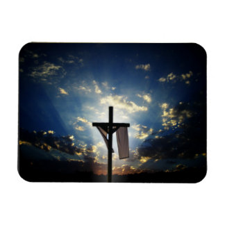 Easter and Palm Sunday Crosses and Scenes Rectangular Photo Magnet