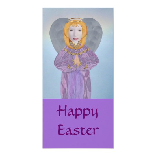 Easter Angel, Card