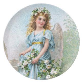 Easter Angel Dinner Plate