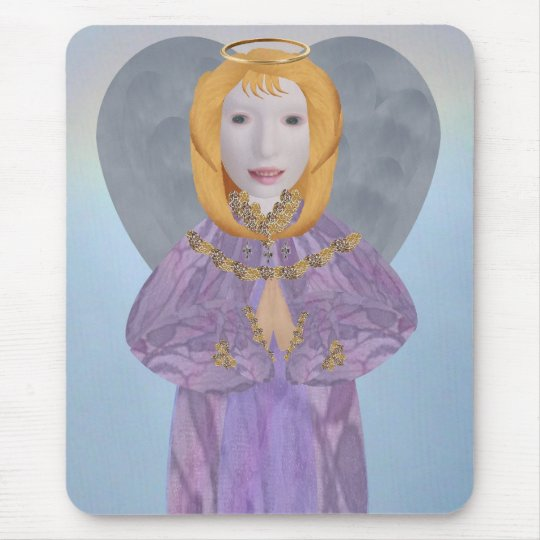Easter Angel Mouse Pad