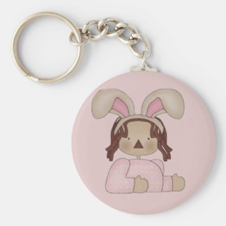 Easter Annie with Pink Blouse Keychain