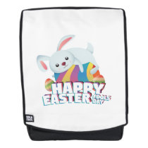 Easter April Fool's Day Gifts Bunny Egg Easter Backpack