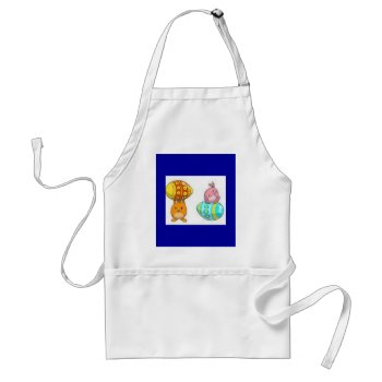 Easter Apron by creativeconceptss at Zazzle