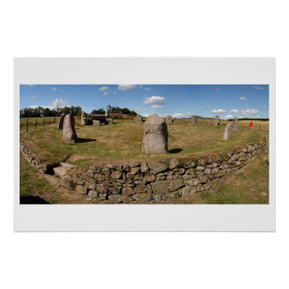 Easter Aquhorthies Stone Circle Poster