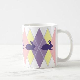Easter Argyle Coffee Mug