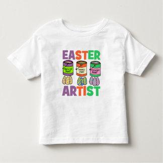Easter artist toddler t-shirt