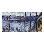 Easter At Walchensee By Corinth Lovis (Best Qualit Custom Photo Card