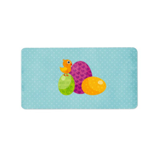 Easter Avery Label Address Label