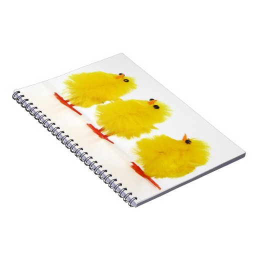 Easter baby chicks Notebook