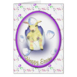 Easter Baby Goat Greeting Card